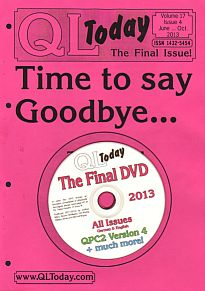 QL Today magazine's last issue