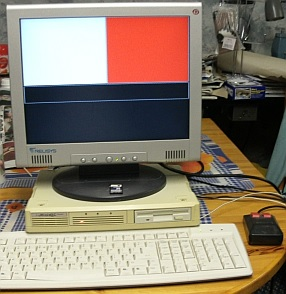 Picture of a Minis-QL computer