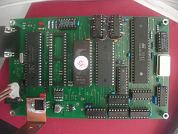 Picture of prototype Propellor Sinclair QL board
