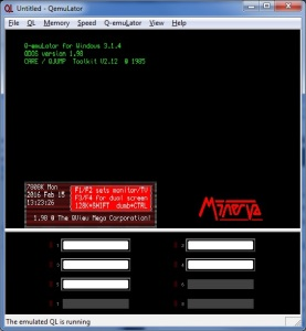 Minerva v1.98 on QemuLator for Windows