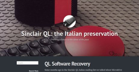 Picture of Italian Software Preservation pages