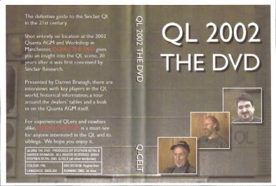 Scan of sleeve of QL 2002 The DVD