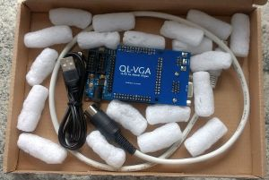 QL-VGA in its packaging