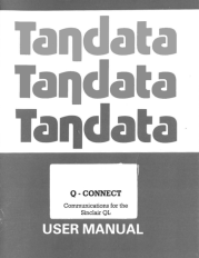 Cover of Q-Connect manual.
