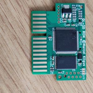 Picture of components side of QL-SD-ROM card.